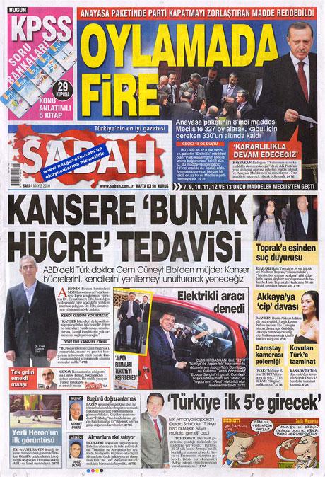 Gazetelerden çarpıcı FİRE manşetleri galerisi resim 14