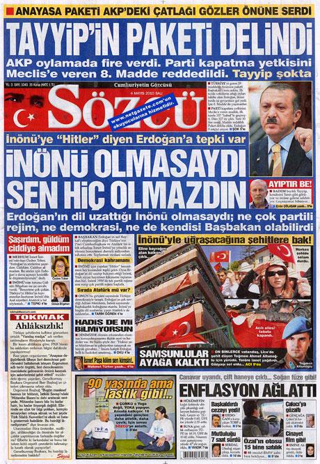 Gazetelerden çarpıcı FİRE manşetleri galerisi resim 15