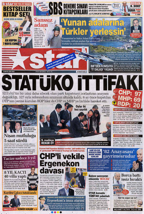 Gazetelerden çarpıcı FİRE manşetleri galerisi resim 16
