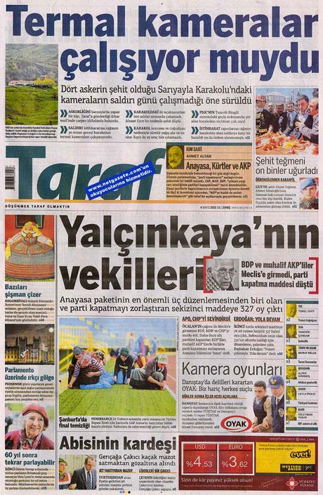 Gazetelerden çarpıcı FİRE manşetleri galerisi resim 18