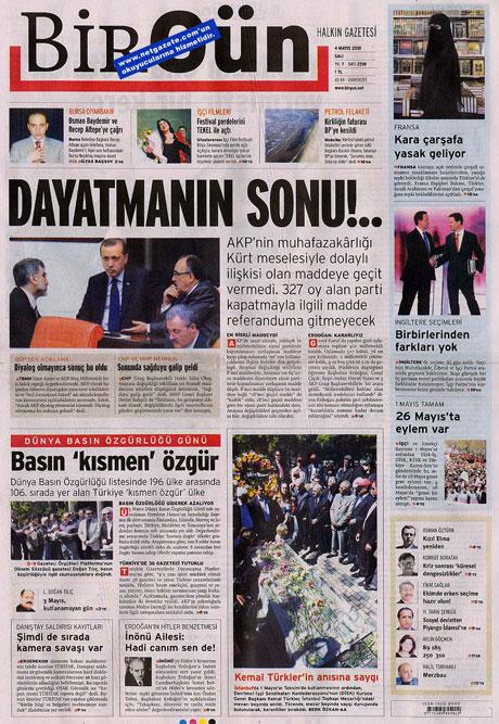 Gazetelerden çarpıcı FİRE manşetleri galerisi resim 2