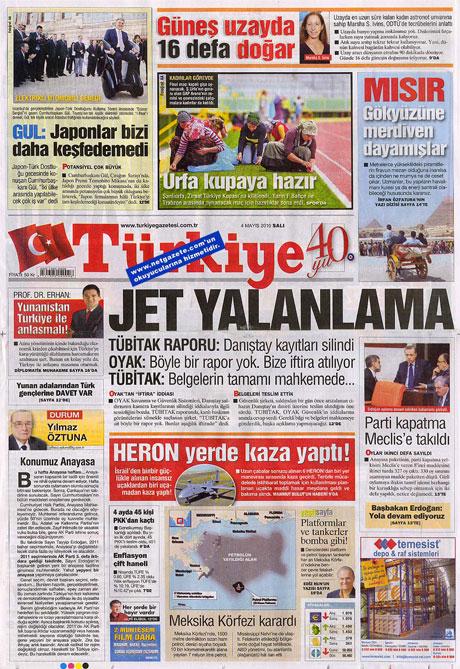 Gazetelerden çarpıcı FİRE manşetleri galerisi resim 20