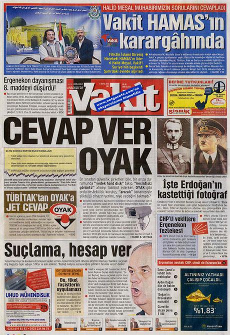Gazetelerden çarpıcı FİRE manşetleri galerisi resim 21