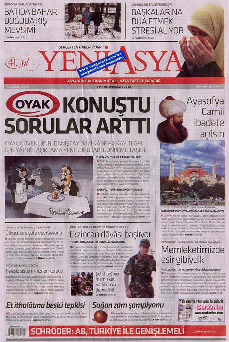Gazetelerden çarpıcı FİRE manşetleri galerisi resim 23
