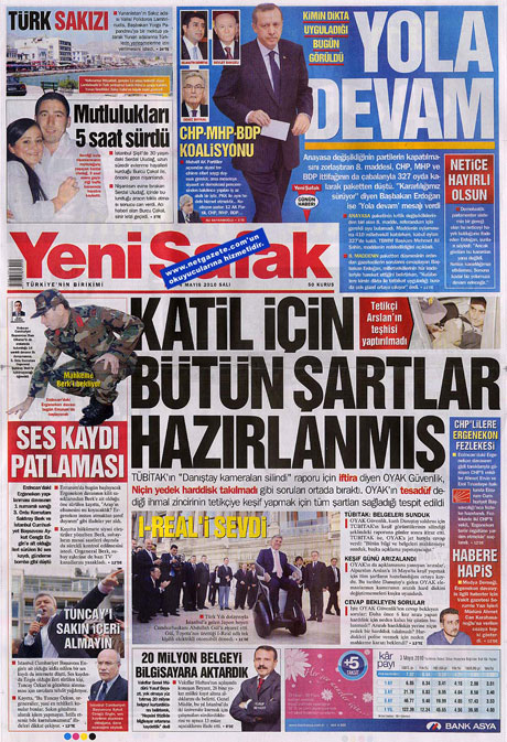 Gazetelerden çarpıcı FİRE manşetleri galerisi resim 24
