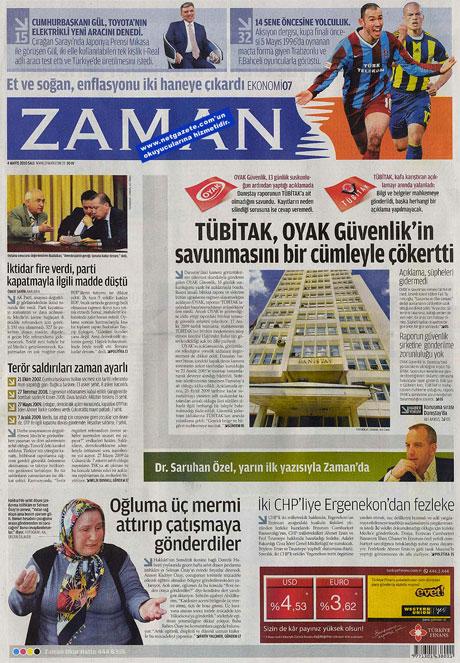 Gazetelerden çarpıcı FİRE manşetleri galerisi resim 25