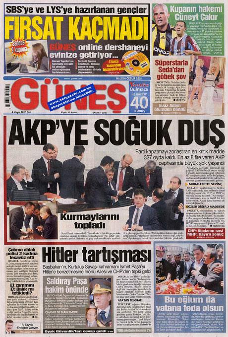 Gazetelerden çarpıcı FİRE manşetleri galerisi resim 6