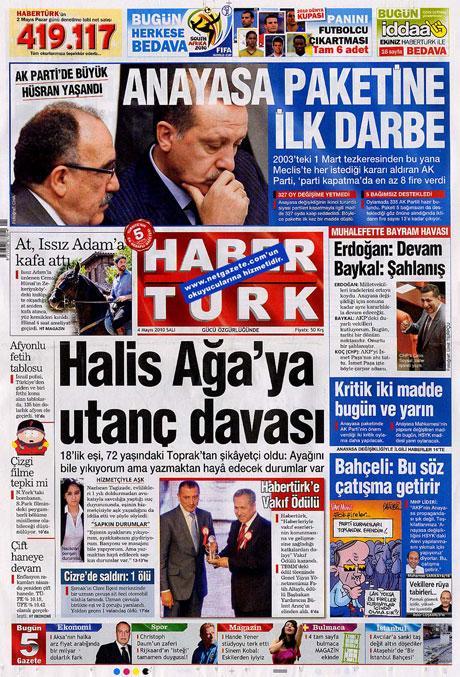 Gazetelerden çarpıcı FİRE manşetleri galerisi resim 7