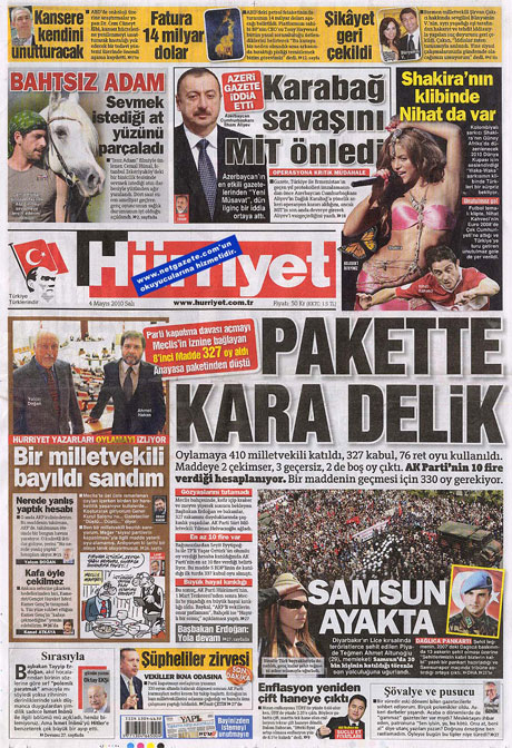 Gazetelerden çarpıcı FİRE manşetleri galerisi resim 8