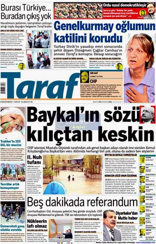 Gazete manşetlerinde hep o var galerisi resim 2