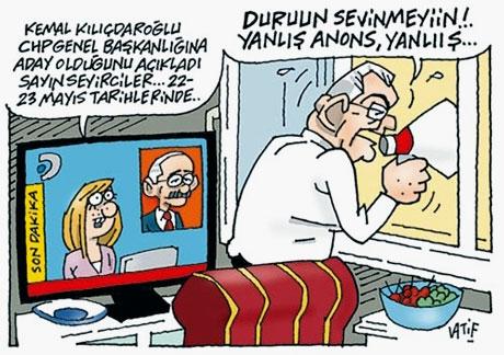 Karikatürlerle Baykal ve Kılıçdaroğlu galerisi resim 3