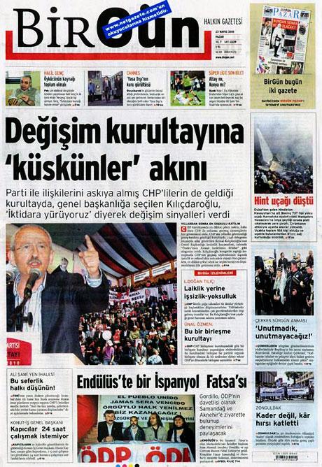 Gazetelerin Kılıçdaroğlu manşetleri galerisi resim 11