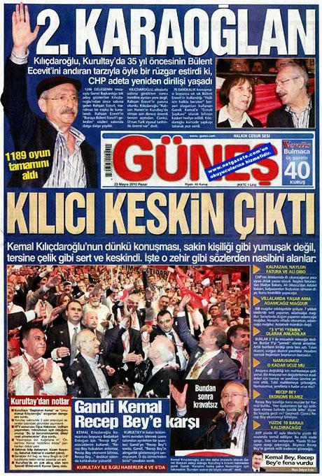 Gazetelerin Kılıçdaroğlu manşetleri galerisi resim 12