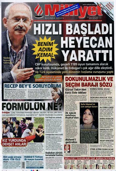 Gazetelerin Kılıçdaroğlu manşetleri galerisi resim 13