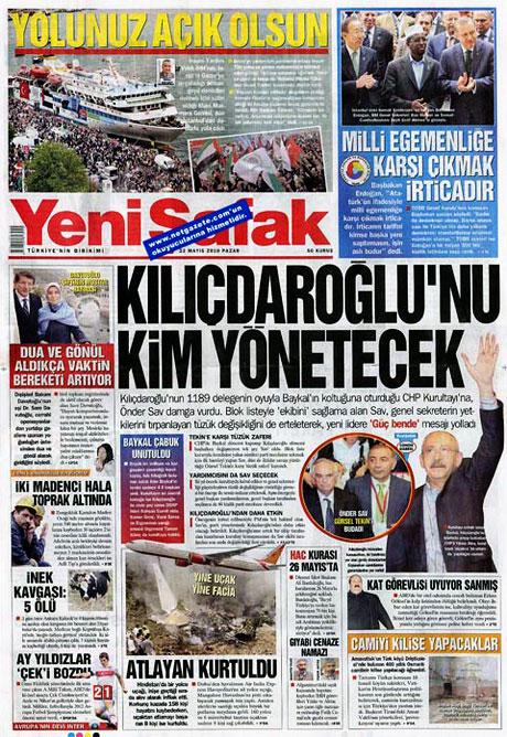 Gazetelerin Kılıçdaroğlu manşetleri galerisi resim 14