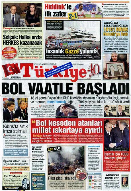 Gazetelerin Kılıçdaroğlu manşetleri galerisi resim 15