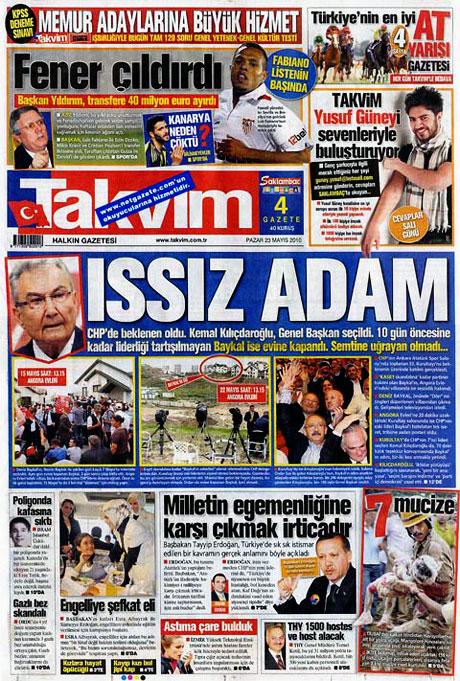 Gazetelerin Kılıçdaroğlu manşetleri galerisi resim 16