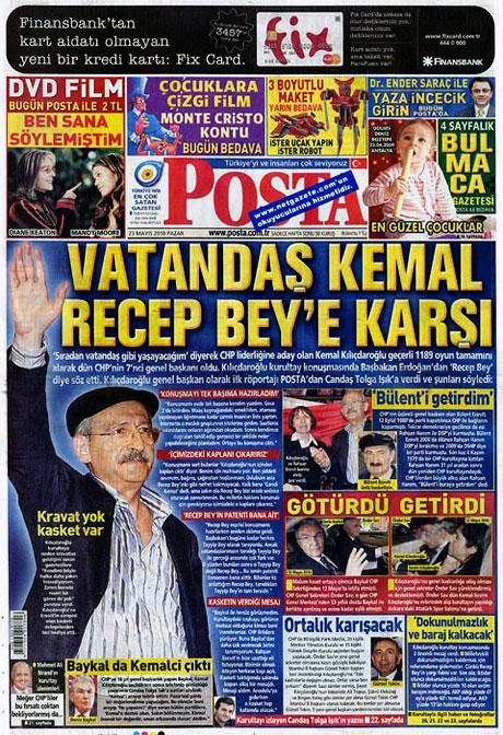 Gazetelerin Kılıçdaroğlu manşetleri galerisi resim 17