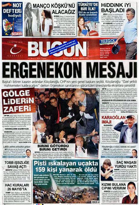 Gazetelerin Kılıçdaroğlu manşetleri galerisi resim 18