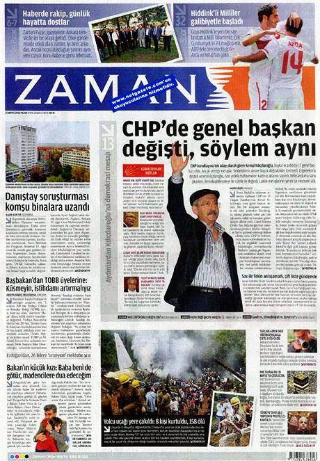 Gazetelerin Kılıçdaroğlu manşetleri galerisi resim 19