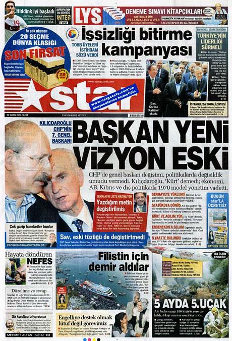 Gazetelerin Kılıçdaroğlu manşetleri galerisi resim 2