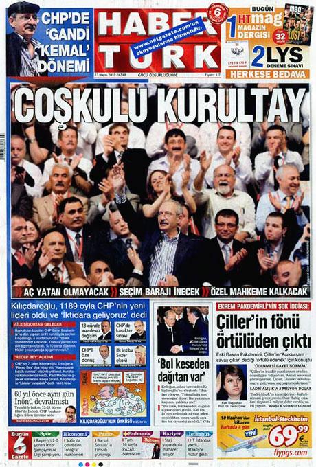 Gazetelerin Kılıçdaroğlu manşetleri galerisi resim 20