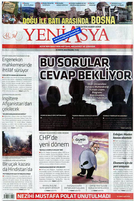 Gazetelerin Kılıçdaroğlu manşetleri galerisi resim 21