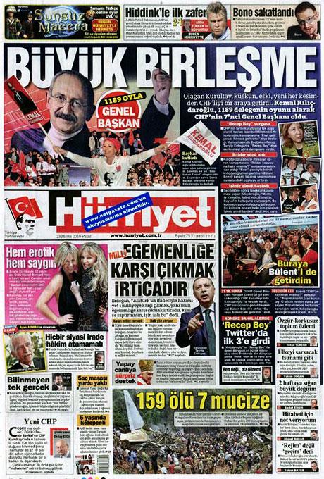 Gazetelerin Kılıçdaroğlu manşetleri galerisi resim 5
