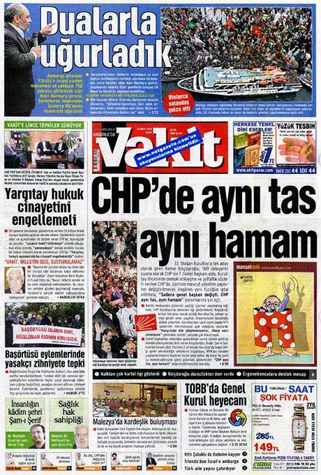 Gazetelerin Kılıçdaroğlu manşetleri galerisi resim 6
