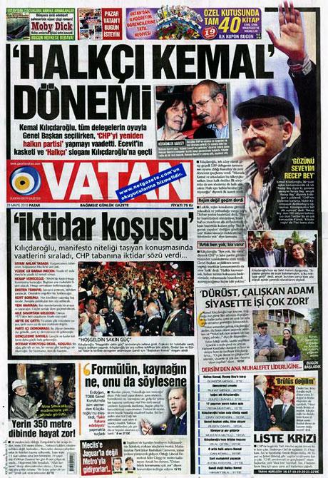 Gazetelerin Kılıçdaroğlu manşetleri galerisi resim 8
