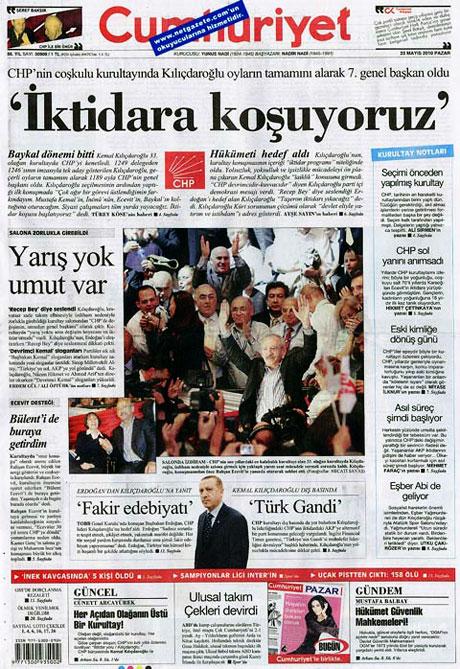 Gazetelerin Kılıçdaroğlu manşetleri galerisi resim 9