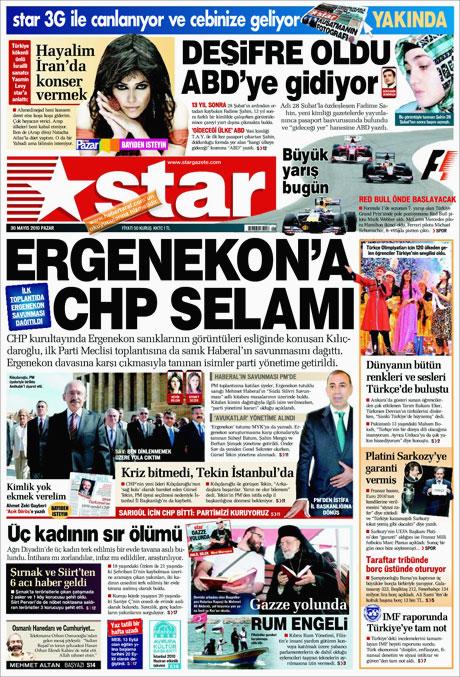 CHP'deki Tekin-Sav savaşı Manşetlerde galerisi resim 10