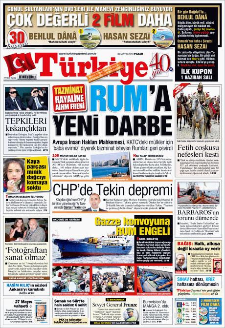 CHP'deki Tekin-Sav savaşı Manşetlerde galerisi resim 12