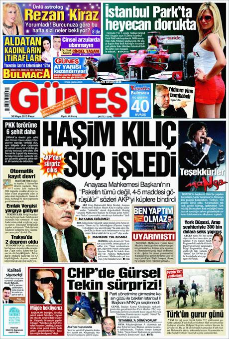 CHP'deki Tekin-Sav savaşı Manşetlerde galerisi resim 5