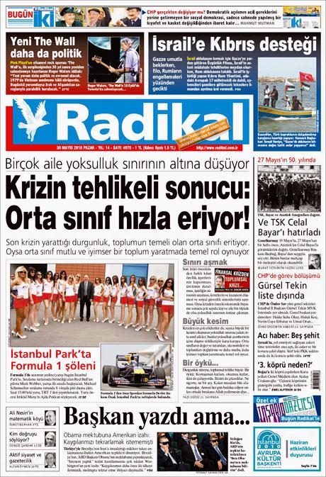 CHP'deki Tekin-Sav savaşı Manşetlerde galerisi resim 7