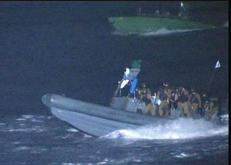 İsrail yardım gemisine böyle saldırdı galerisi resim 16