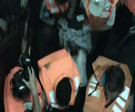 İsrail yardım gemisine böyle saldırdı galerisi resim 42