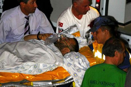 Yardım gönüllüleri İstanbul'da galerisi resim 12