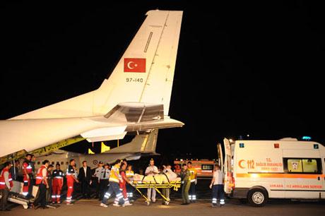 Yardım gönüllüleri İstanbul'da galerisi resim 6