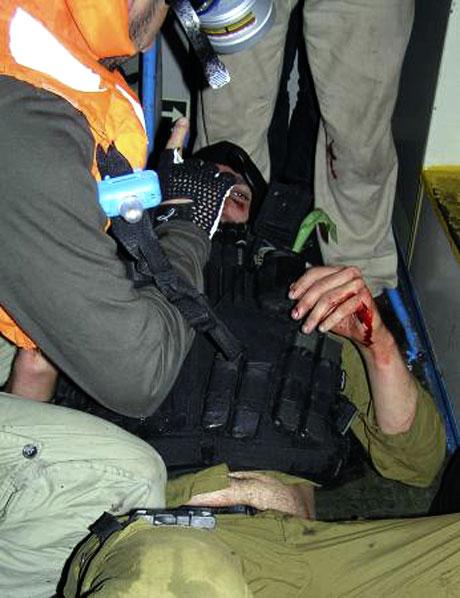 İsrail'in imajı yerlerde: Ağlayan komando! galerisi resim 1