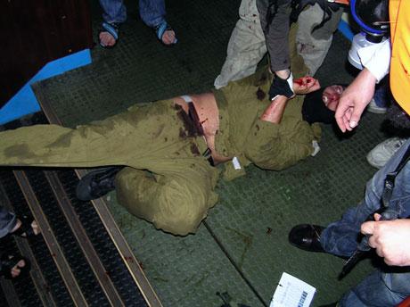 İsrail'in imajı yerlerde: Ağlayan komando! galerisi resim 14