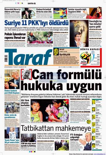 Günün en çarpıcı gazete manşetleri galerisi resim 15