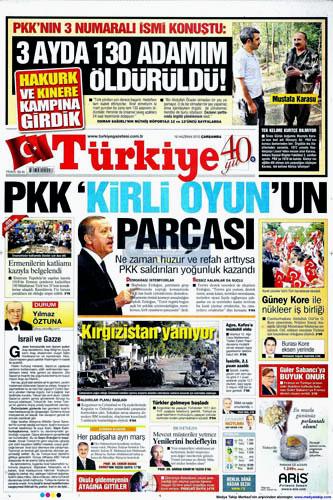 Günün en çarpıcı gazete manşetleri galerisi resim 17