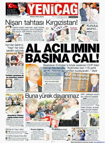 Günün en çarpıcı gazete manşetleri galerisi resim 19