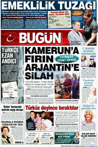 Günün en çarpıcı gazete manşetleri galerisi resim 2