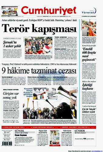 Günün en çarpıcı gazete manşetleri galerisi resim 3