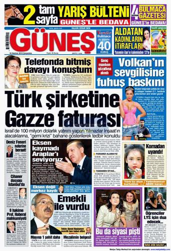 Günün en çarpıcı gazete manşetleri galerisi resim 5
