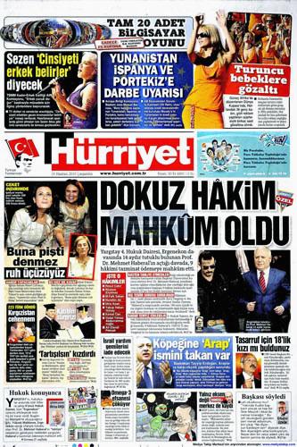 Günün en çarpıcı gazete manşetleri galerisi resim 7