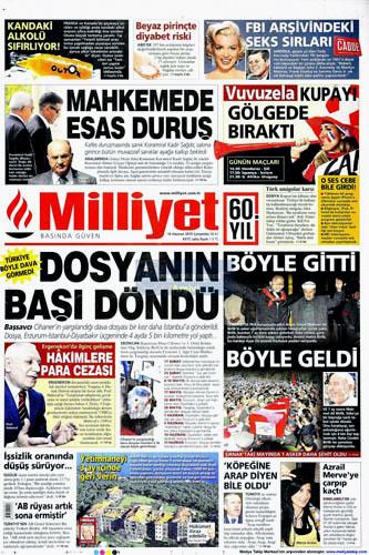 Günün en çarpıcı gazete manşetleri galerisi resim 9