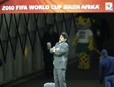 Dünya kupasında Maradona şov! galerisi resim 1